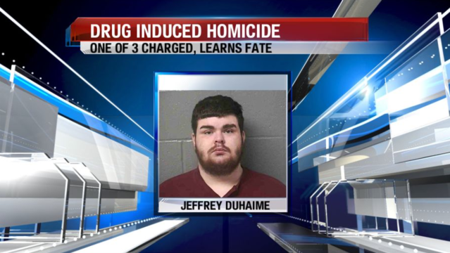 Man sentenced for involvement in drug-induced death