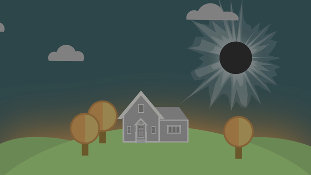 Solar eclipse: Wear proper glasses - or risk eye damage