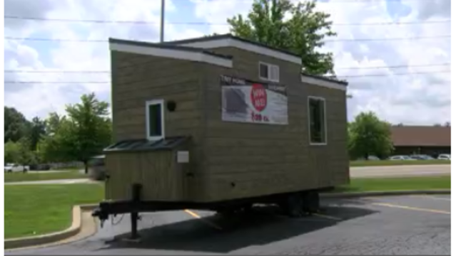 PAAR raffling off tiny house