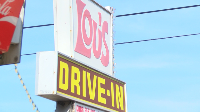 Lou's Drive-In is closing down for the summer & some people are going for one last hot dog
