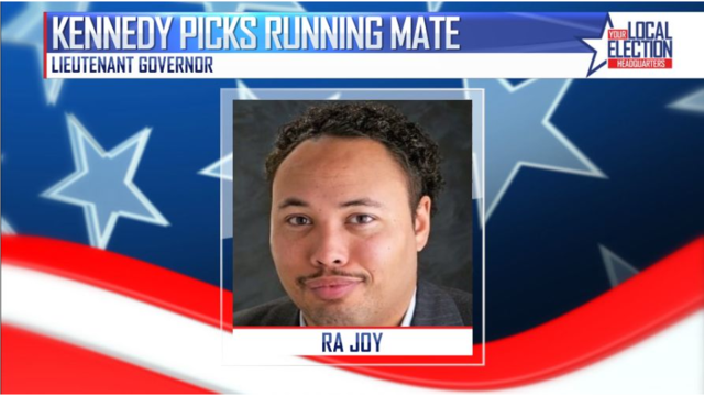 Kennedy chooses running mate: Ra Joy, who lost son to gun violence