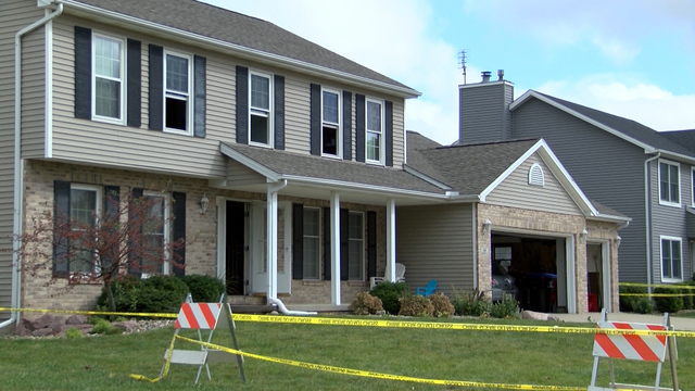 Man kills 2 children and self, sets fire to home