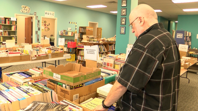 Books to Benefit receives big donations