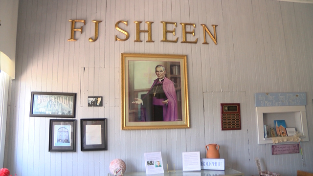 Fight moves forward to bring Archbishop Sheen's remains to Central Illinois