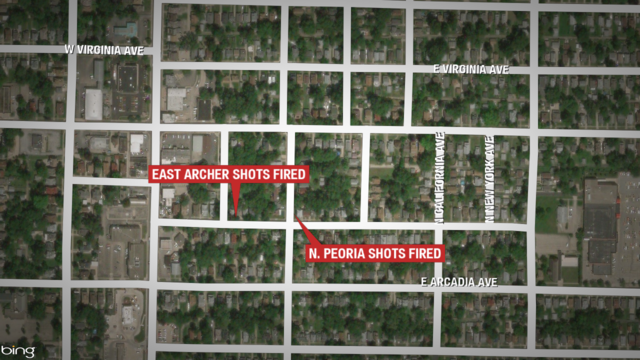 Peoria Police searching for suspects in two shots fired calls