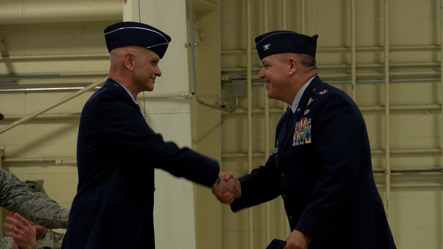 Colonel Daniel McDonough has some big shoes to fill