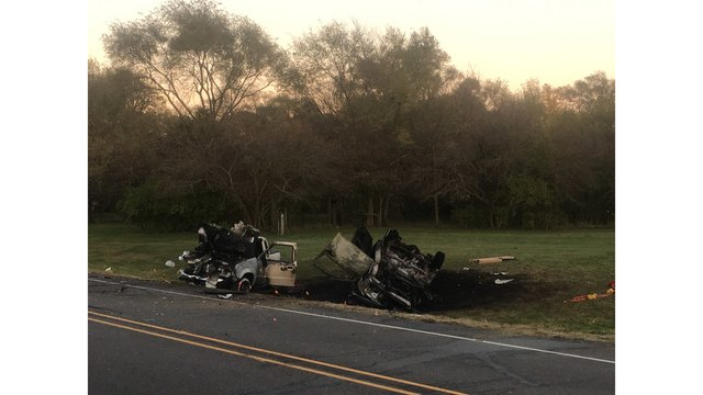 UPDATE: 2 people killed in car crash in Manito
