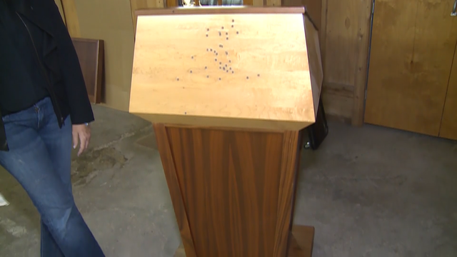 Presidential protection: The Midwest company behind bulletproof podiums