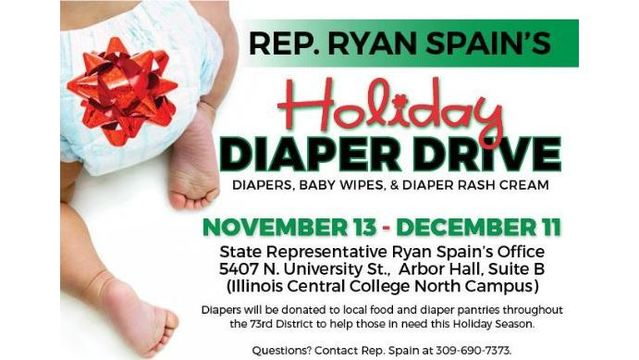 Diapers needed: baby supply drive