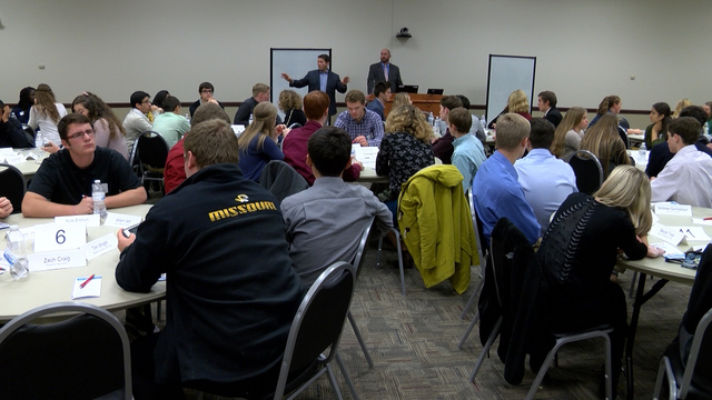 Local students learn about state government
