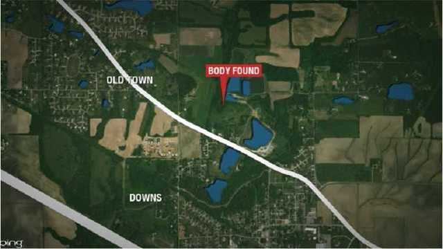 Man found in creek died from drowning