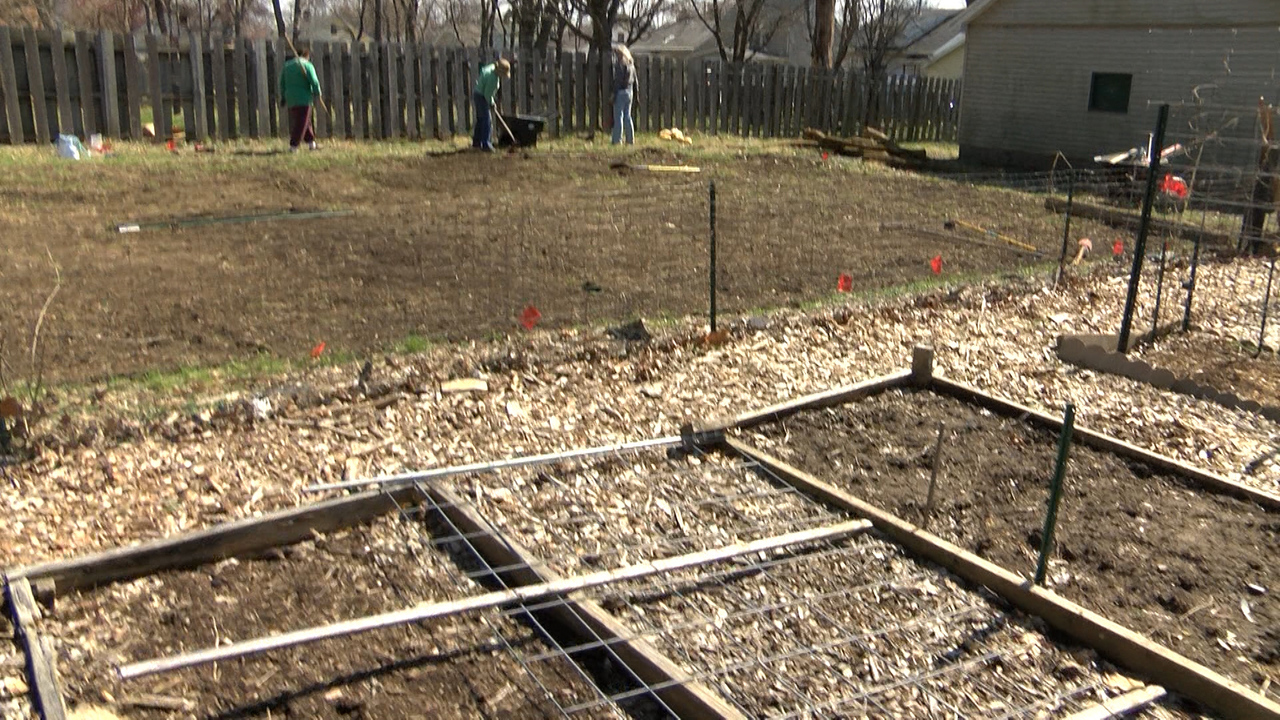 Forrest Hill Community Garden Gets a Generous Gift