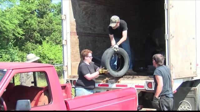 Tireless Project to hold monthly tire collection Saturday