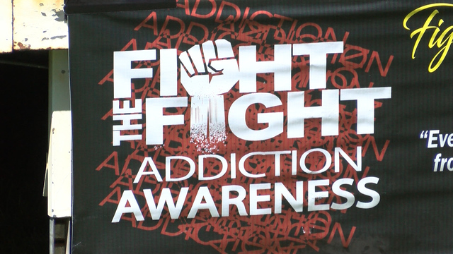 Hundreds Fight the Fight to spread addiction awareness
