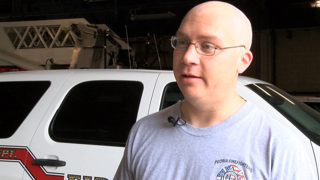 Rally to support local firefighter battling cancer