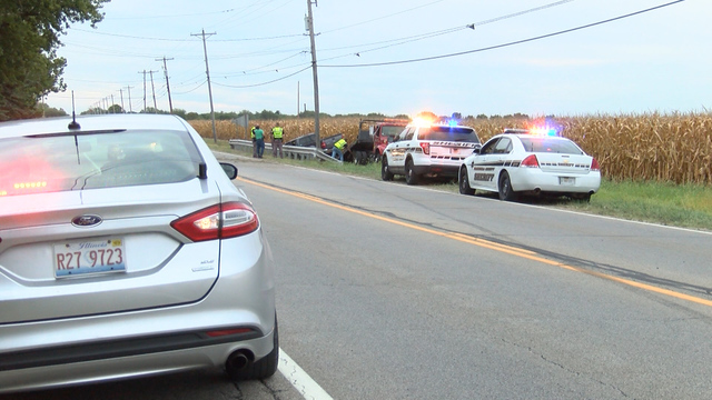 Man lifeflighted to hospital after single vehicle crash on Route 29