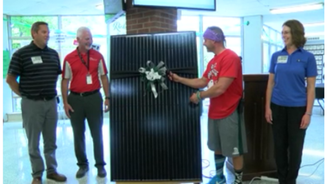 Richwoods presents new solar rooftops