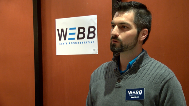 Democrat Ben Webb to run for State Rep. in 105th district