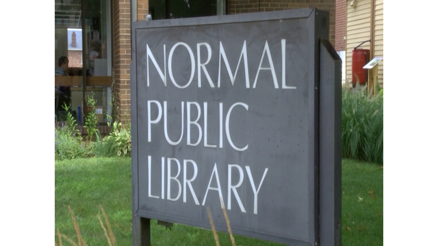 Normal Public Library receives grant