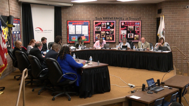 New security and earlier dismissal times discussed during Peoria Public School's board meeting