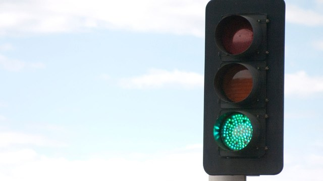 Traffic signal construction taking place this week