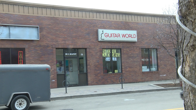 Local music store is closing its doors