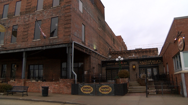 Burglaries at two bars in Downtown Peoria