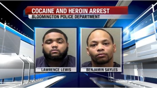 Two Champaign men arrested on drug charges