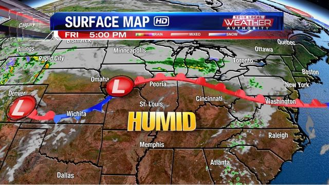 Long Range Forecast - Warm with Storms