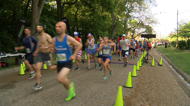 Runners brave the heat to kick off Memorial Day with 'Springdale Salute 5K'