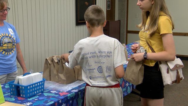 Local school district keeping kids fed