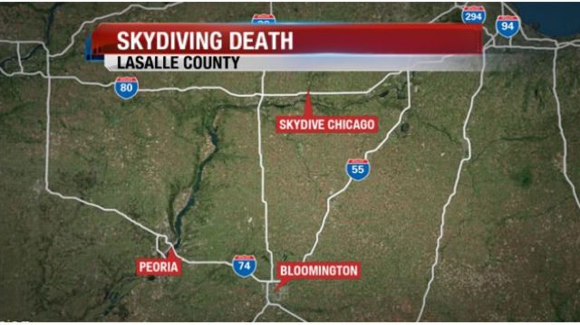 Man dies in LaSalle County skydiving accident