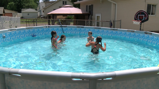 Viral video spring boards conversations about pool safety