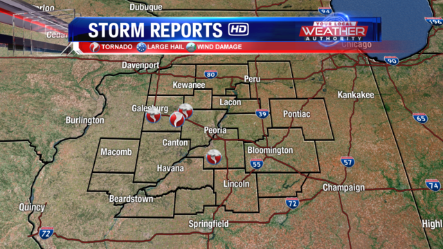 Thursday, June 21 Storm Reports and Heavy Rainfall