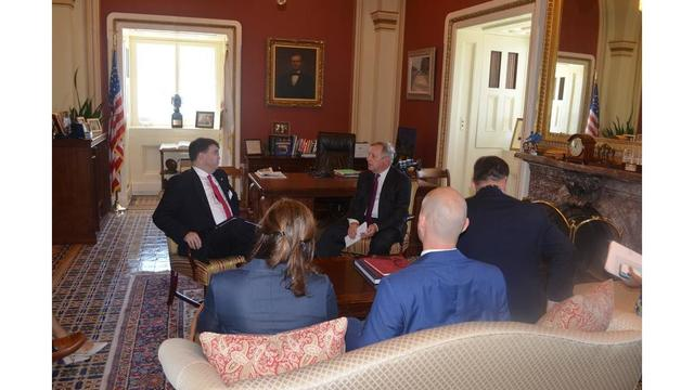 Durbin meets with VA secretary nominee, presses for support of Quincy veterans home