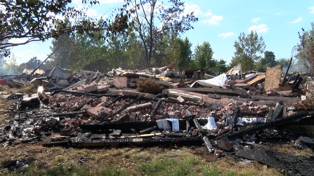 Community members step up to help family after a house fire