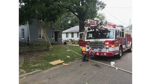 Peoria house fire sees heavy smoke damage, nobody injured