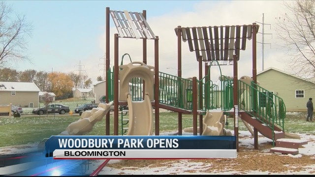 Bloomington city staff opens long anticipated park