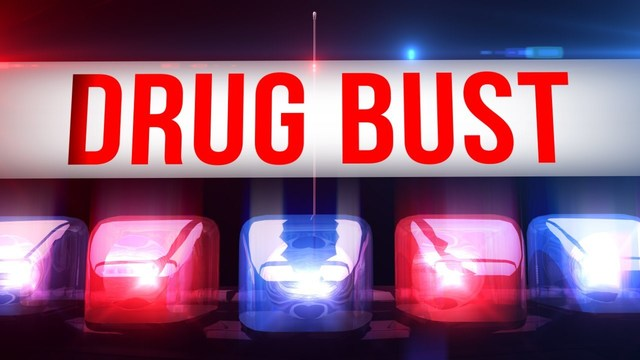 Local officials conduct drug bust, seize cocaine, cannabis, $16,000