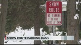 Snow route parking bans enforced in Pekin