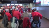 Many Central Illinois businesses host watch parties to support the Braves