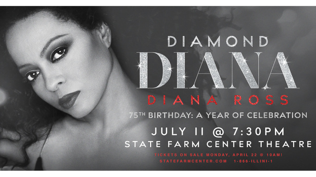 Superstar Diana Ross to play Champaign this summer