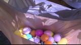 Families celebrate Easter with Easter egg hunts