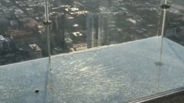 Floor coating replaced at Chicago skyscraper attraction
